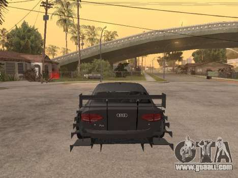 Audi A4 Touring for GTA San Andreas right view