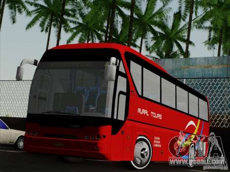 Neoplan Tourliner. Rural Tours 1502 for GTA San Andreas left view