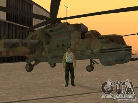 Mi-24 p for GTA San Andreas