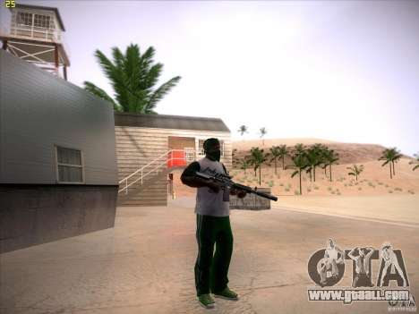 M4 Close Quarters Combat for GTA San Andreas forth screenshot