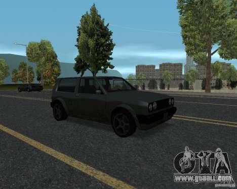 New road textures for GTA UNITED for GTA San Andreas fifth screenshot