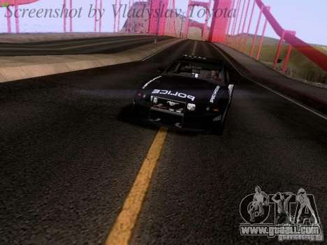 Ford Mustang GT 2011 Police Enforcement for GTA San Andreas right view