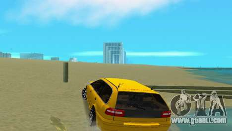 VOLVO V40 for GTA Vice City right view