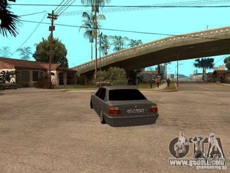 BMW 750i for GTA San Andreas right view