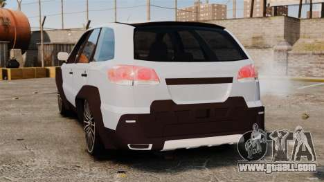 Fiat Palio Adventure Locker Evolution for GTA 4 back left view