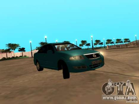 Nissan Almera Classic for GTA San Andreas back left view