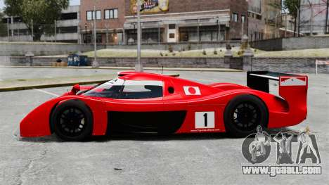 Toyota GT-One TS020 for GTA 4 left view