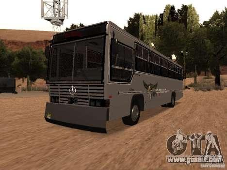 Mercedes Benz SWAT Bus for GTA San Andreas
