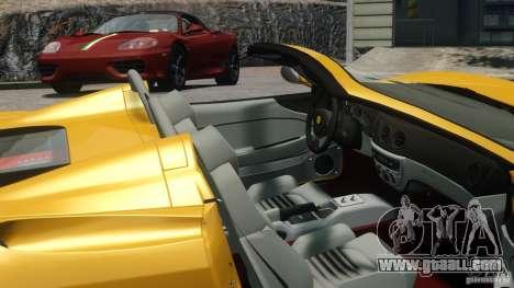 Ferrari 360 Spider 2000 for GTA 4 back left view