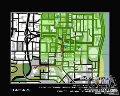New HUD for GTA San Andreas third screenshot