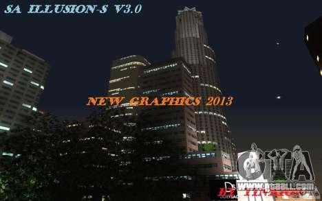 SA Illusion-S V3.0 for GTA San Andreas