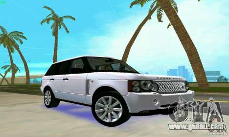 Land Rover Range Rover Supercharged 2008 for GTA Vice City side view