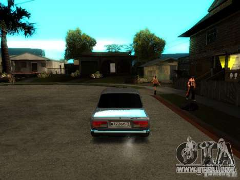 VAZ 2107 V2 for GTA San Andreas