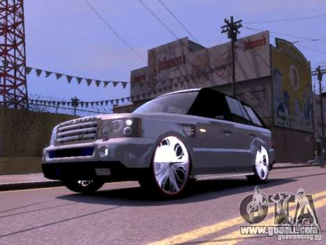 Range Rover DUB 2.0 for GTA 4 left view