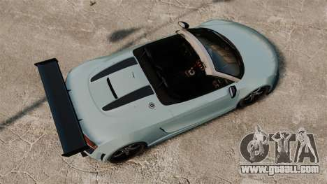Audi R8 Spider Body Kit for GTA 4 right view