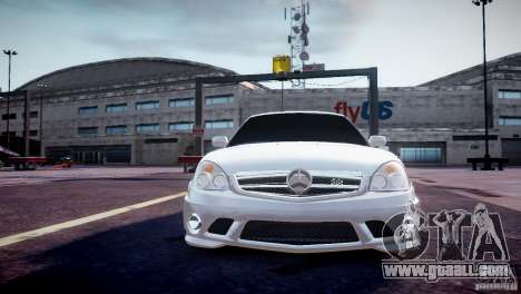 LADA 2170 Priora AMG for GTA 4 back view
