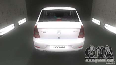Dacia Logan for GTA Vice City right view