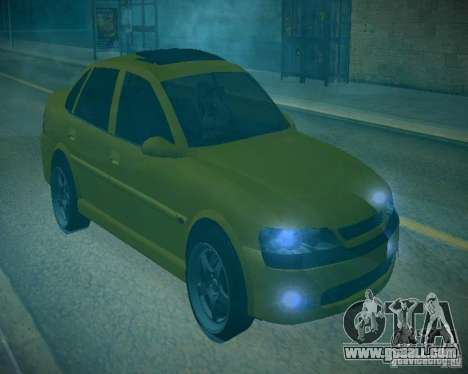 Opel Vectra B for GTA San Andreas back view