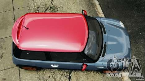Mini Cooper S v1.3 for GTA 4 right view