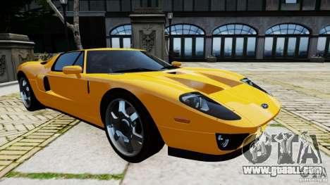 Ford GT 2005 v1.0 for GTA 4 left view