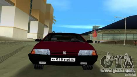 VAZ 21099 for GTA Vice City back left view