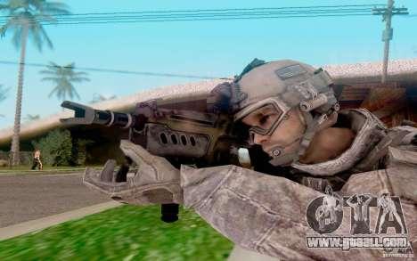 Tavor Ctar-21 from warface for GTA San Andreas third screenshot