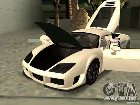 Noble M600 for GTA San Andreas side view
