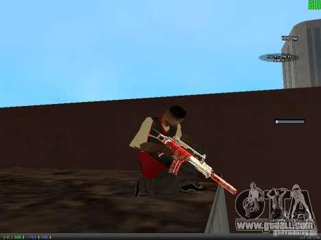 Graffiti Gun Pack for GTA San Andreas seventh screenshot