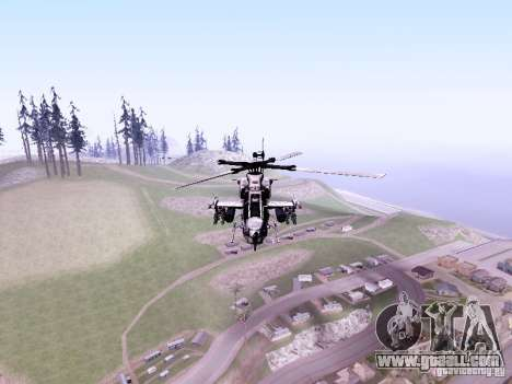 AH-1Z Viper for GTA San Andreas left view