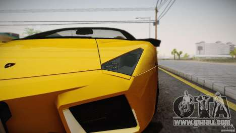 Lamborghini Reventón Roadster 2009 for GTA San Andreas left view