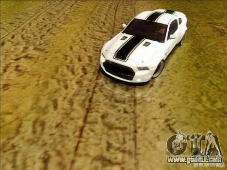 Ford Shelby GT500 SuperSnake NFS The Run Edition for GTA San Andreas left view