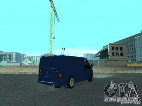 Ford Transit Sport 2011 for GTA San Andreas left view