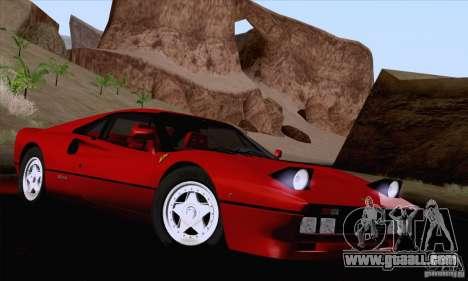 Ferrari 288 GTO 1984 for GTA San Andreas side view