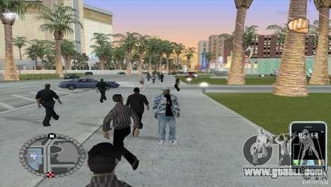 Ultra-modern HUD for GTA San Andreas second screenshot