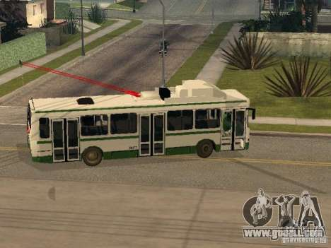 MTrZ 5279 for GTA San Andreas right view
