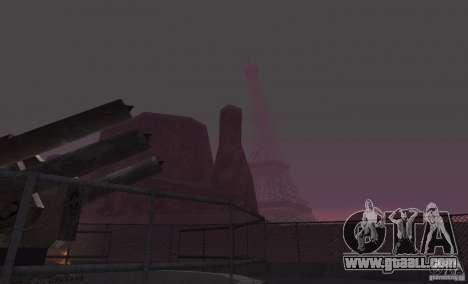 The Eiffel Tower from Call of Duty Modern Warfar for GTA San Andreas third screenshot