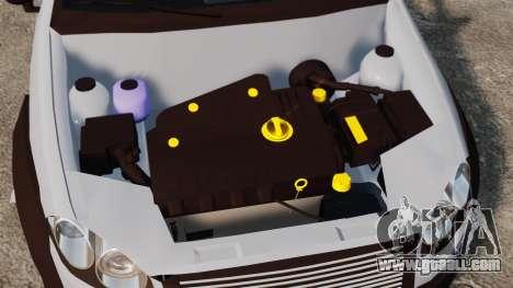 Fiat Palio Adventure Locker Evolution for GTA 4 inner view