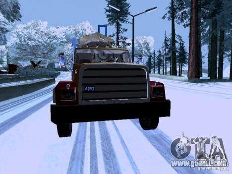 RTS 420 Šatalka for GTA San Andreas back view