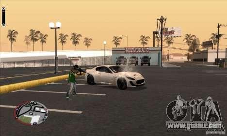 GodPlayer v1.0 for SAMP for GTA San Andreas forth screenshot