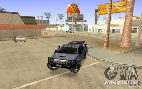 Toyota Hilux Rally Version for GTA San Andreas