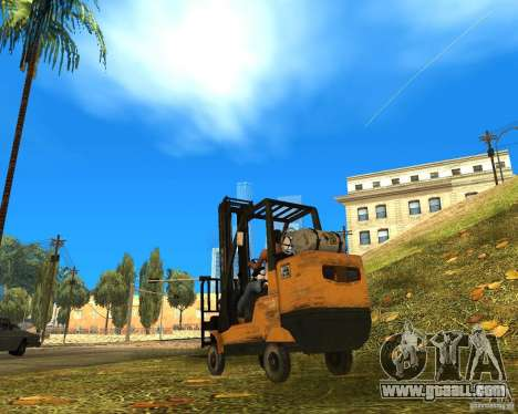 Loader of the COD MW 2 for GTA San Andreas left view