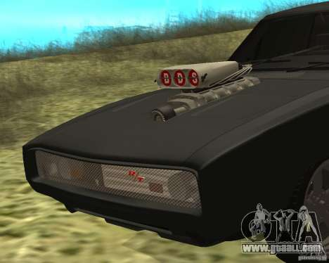 Dodge Charger R/T 1970 for GTA San Andreas left view