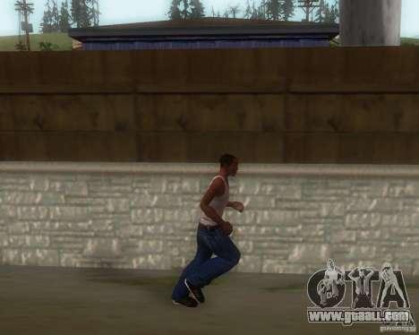 GTA IV Animations v1.1 for GTA San Andreas third screenshot