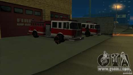 Revival fire station in San Fierro v 2.0 Final for GTA San Andreas second screenshot