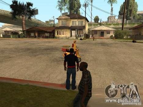 Hungry CJ v. 3 final for GTA San Andreas