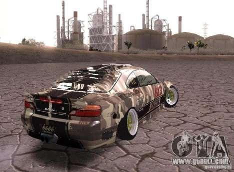Nissan Silvia S15 Volklinger for GTA San Andreas left view