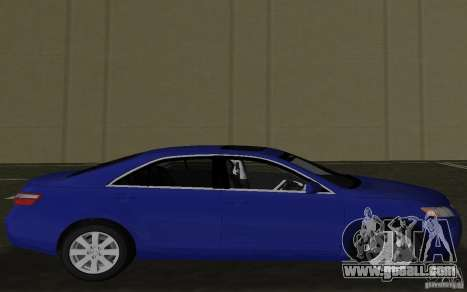 Toyota Camry 2007 for GTA Vice City left view
