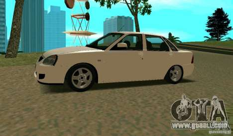 Vaz-2170 for GTA San Andreas left view