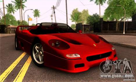 Ferrari F50 Spider for GTA San Andreas left view