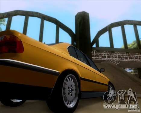 BMW 730i E38 1996 Taxi for GTA San Andreas inner view